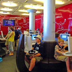 Интернет-кафе Верхней Хавы