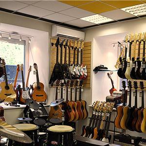 Музыкальные магазины Верхней Хавы